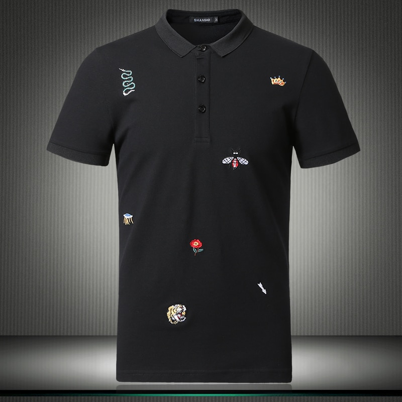 Polo shorts casuais masculinos, camisas florais, tamanho grande m-4xl 5xl 2019 81852