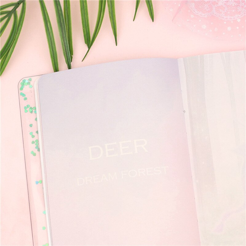 Kawaii Cactus Notebook With Pen Schedule Book Sketchbook Diary Weekly Planner Handbook School Stationery Girls Birthday Gift