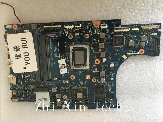 Yourui dell inspiron 15 5566 노트북 마더 보드 bal22 LA-D803P ddr4 a12 프로세서 테스트 모든 기능 100%