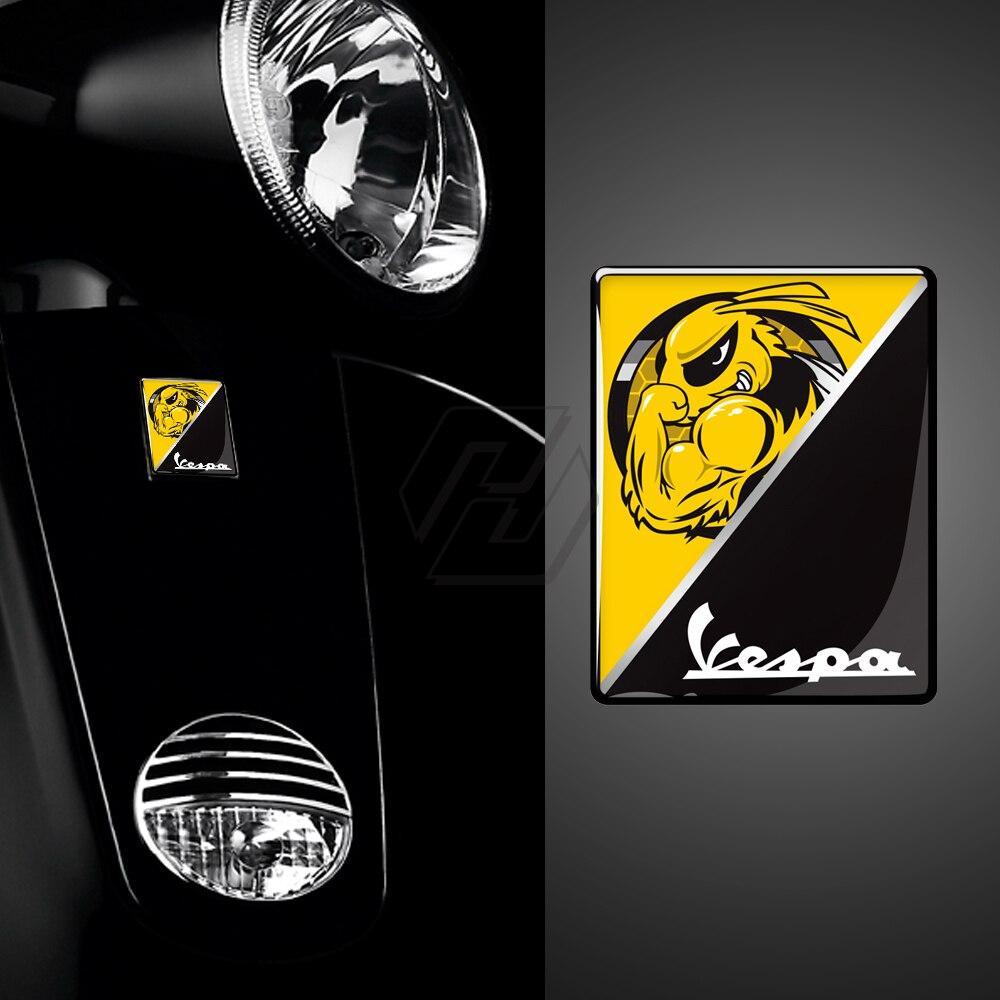 3D Motorrad Aufkleber Italien Aufkleber Ersetzen Logo Aufkleber Fall für PIAGGIO VESPA GTS GTV LX LXV 125 250 300 Dh super