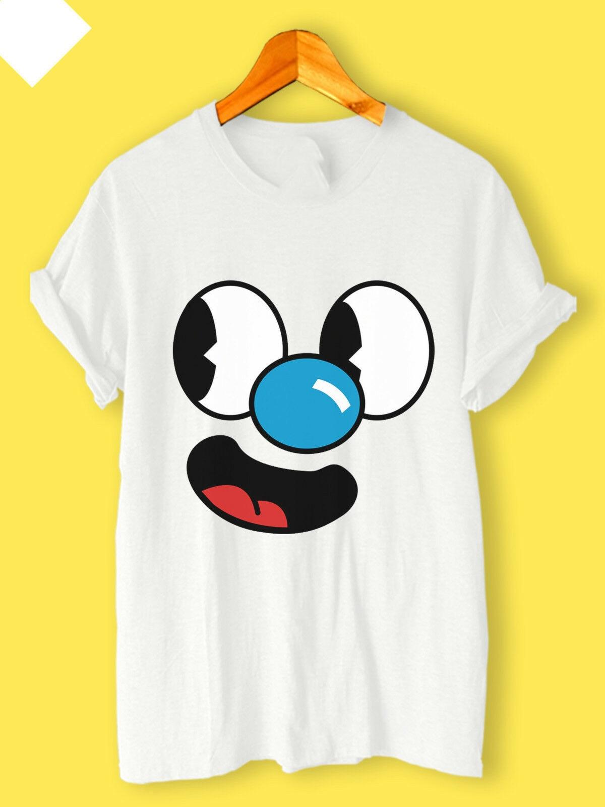 2020 novo cuphead mugman logo jogo dos desenhos animados novo casual usar unisex camiseta s, m, l, xl, 2xl, 3xl streetwear