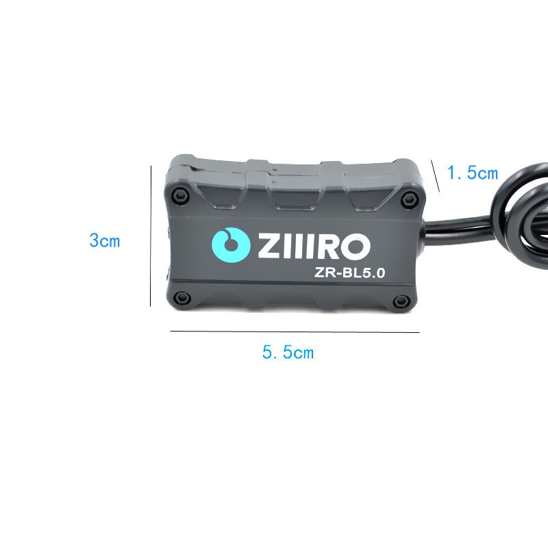 Купить с кэшбэком 12V Aux Bluetooth 5.0 Car Bluetooth Adapter Module Music Receiver Bluetooth Car kit with 2 RCA input Aux Audio for Car Speaker