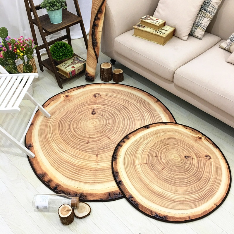 European-style Creative Carpet Of The Personalized  Foot Pad Parlor Tea Table Mattress Pad Bed Blanket Anti-slip Floor mat