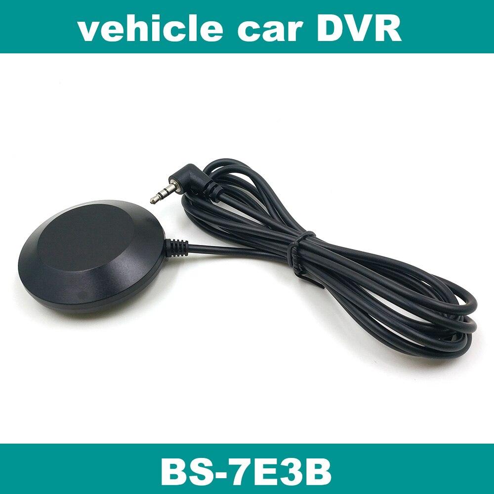 Cámara para salpicadero de coche DVR GPS grabador de vídeo, módulo receptor GPS antena, BS-7E3B