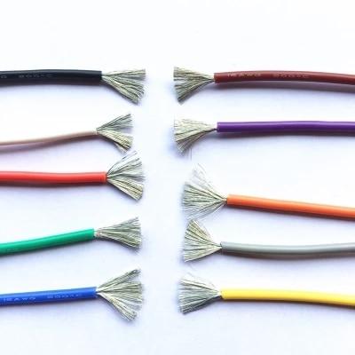 4 5 6 7 8 10 11 12 13 14 15 16 17 18 20 22 24 26 28 30 AWG resistente al calor Cable de silicona blando Cable para RC Heli aviones no tripulados de alta temperatura