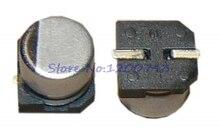 10 pièces/lot condensateur électrolytique 35V22UF 5*5mm SMD condensateur électrolytique en aluminium 22uf 35v