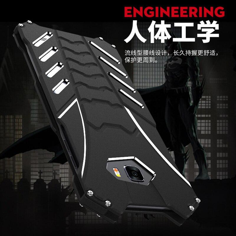 Étui pour Samsung c9 pro Fundas Coque de protection en aluminium R-JUST pour Samsung galaxy c5 pro c7 c7 pro