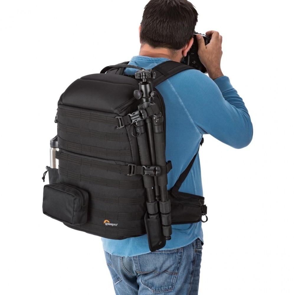 Lowepro ProTactic 450 aw / 450 aw II الكتف حقيبة كاميرا SLR حقيبة الكاميرا مع جميع غطاء الطقس 15.6