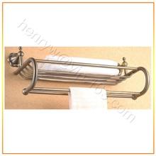 Retail - Luxury Brass Towel Rack, Bronze Finish Towel Shelf, Wall Mounted, Free Shipping L15823
