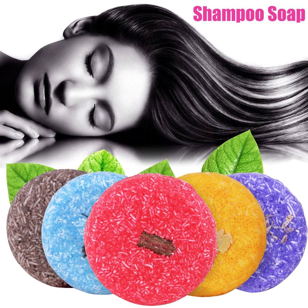 Fragrance Shampoo Soap Hair Care Nourishing Anti Dandruff Oil Control Handmade Soaps MH88