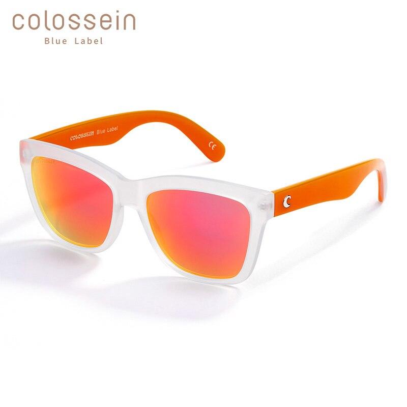 COLOSSEIN Sunglasses Women Fashion Sun glasses Brand Designers Men Summer Glasses Fashion Eyewear New Trendy Summer Holiday