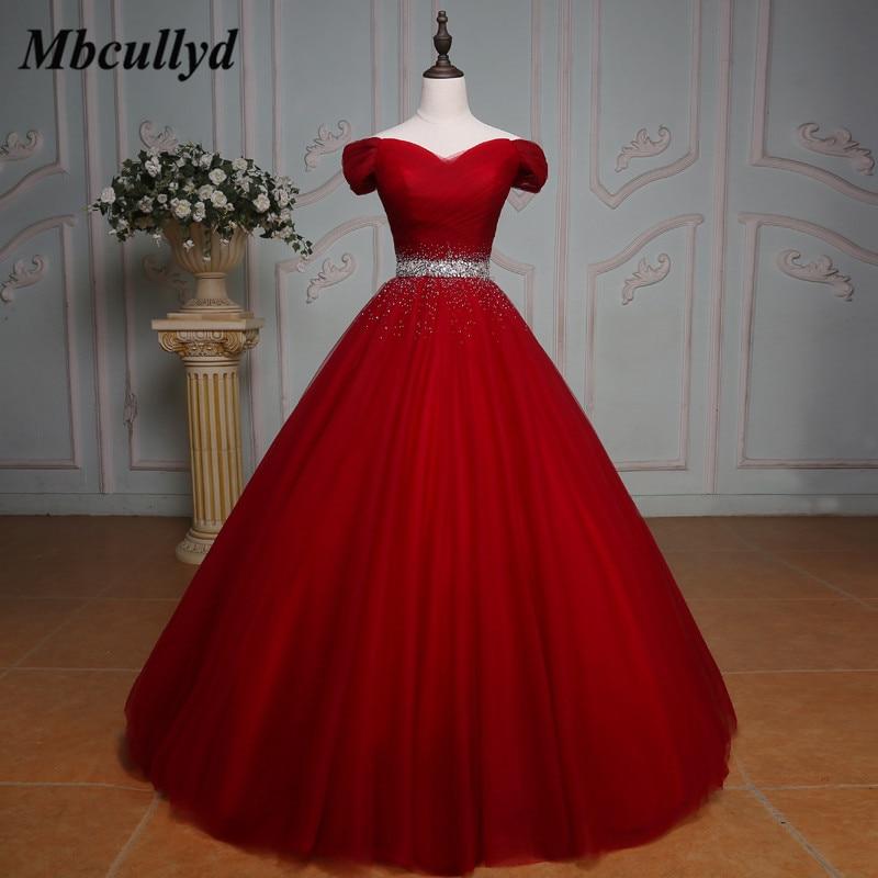 Пышное Бальное Платье пышные платья 2020 Украшенные бусинами и кристаллами милые