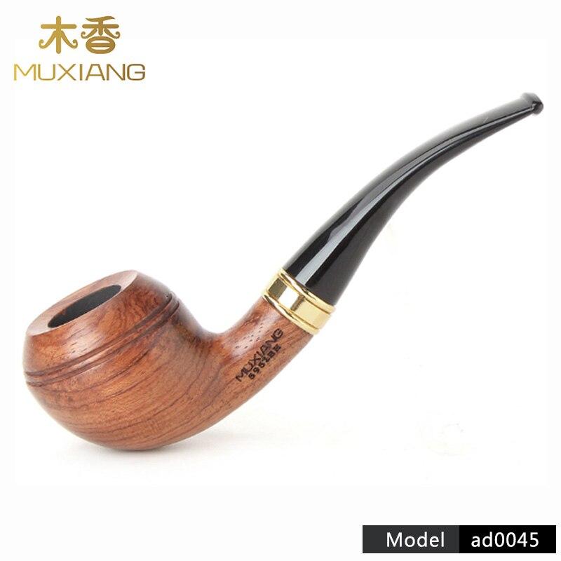 De alta calidad de madera de Rosa fumar tabaco de pipa de cigarrillo de fuma herramientas prácticas tabaco seco de 9mm FILTRO DE ad0045