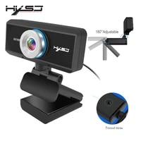 hxsj usb web camera 720p hd 1mp computer camera webcam built in sound absorbing microphone 1280 720 dynamic resolution pc