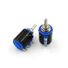WXD3-12 1 W 100 220 470 1 K 2K2 3K3 4K7 10 K 22 K 33 K 47 K Ohm 100R 220R 470R 2.2 K 3.3 K 4.7 K WXD3-12-1W Multi Potentiomètre Bobiné