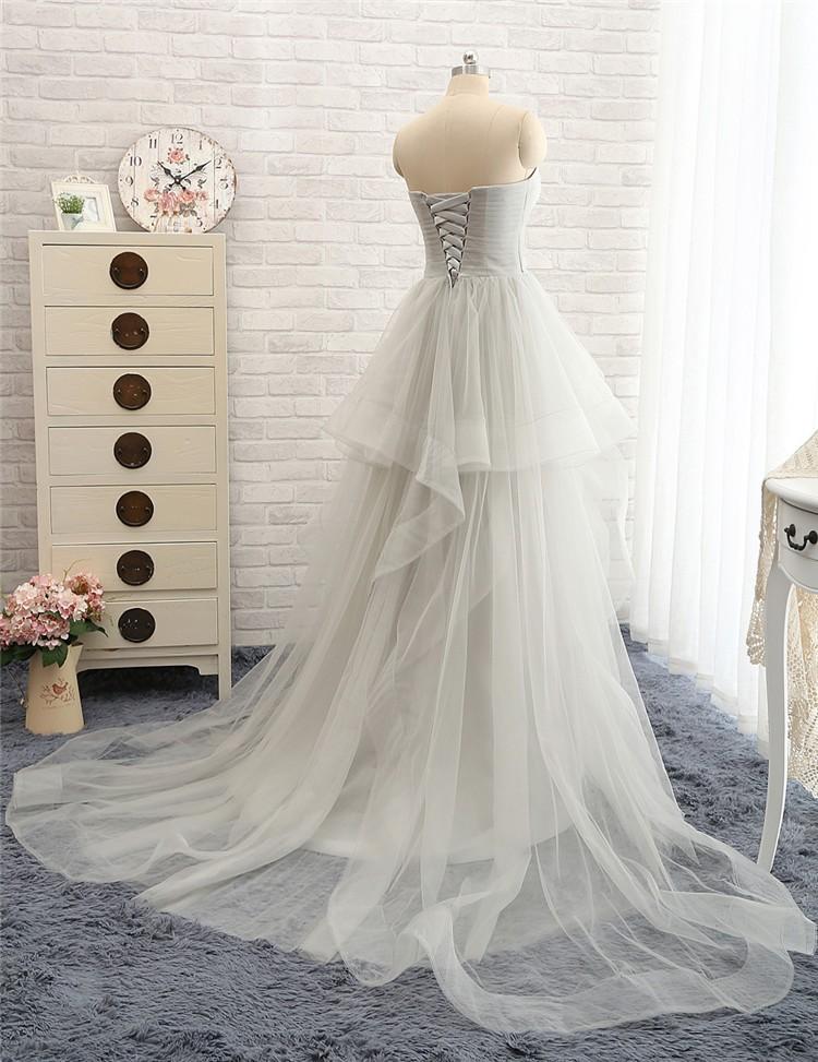Off The Shoulder Tulle Long Evening Elegant Dress 2