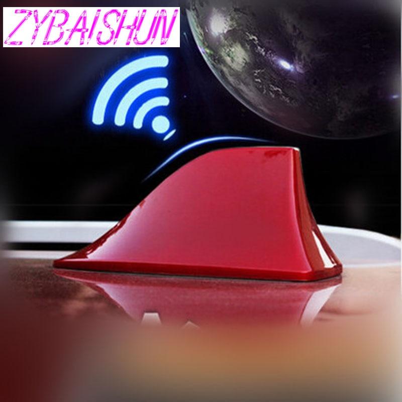 ZYBAISHUN Antena de radio de coche alerón con forma de aleta de tiburón para Infiniti FX-series Q-Serie QX serie Coupe EX37 EX25 JX35 EX35