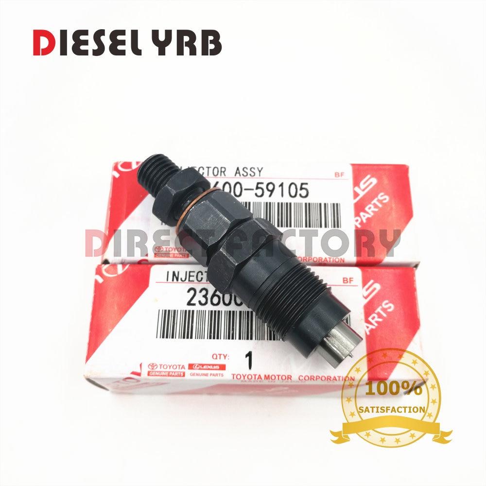 2L 3L 23600-59105 inyector boquilla assy para toyota CRESSIDA corona HILUX HIACE LAND CRUISER DYNA GX81 GX70 LN200 KZJ9 LY21 KZH1