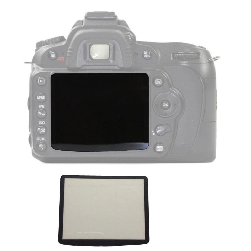 Exteriores LCD protector de pantalla de piezas de reparación para Nikon D80 D90 D200 D300 D3000 D3100 D3200 D3300 D5000 D5100 D7000 SLR