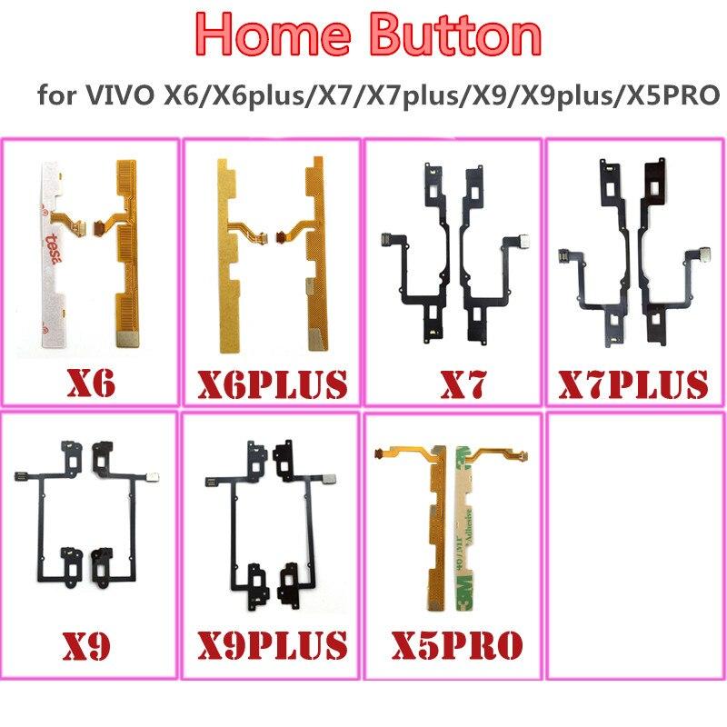 Home Button Conector Do Sensor De Toque Id de Impressão Digital Flex Cable Para para VIVO X6/X6plus/X7/X7plus/ x9/X9plus/X5PRO Conector Fita