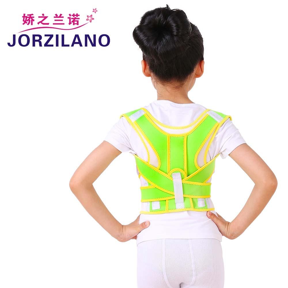 Cinturón Corrector de postura para niños JORZILANO espalda Humpback ajustable banda de cuidado de la salud de doble capa