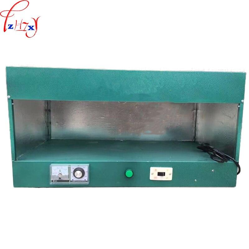 Calzado industrial pequeño para horno, calzado de piel de 75 cm, equipo de secado y modelado de calzado para horno 220V 2.0KW