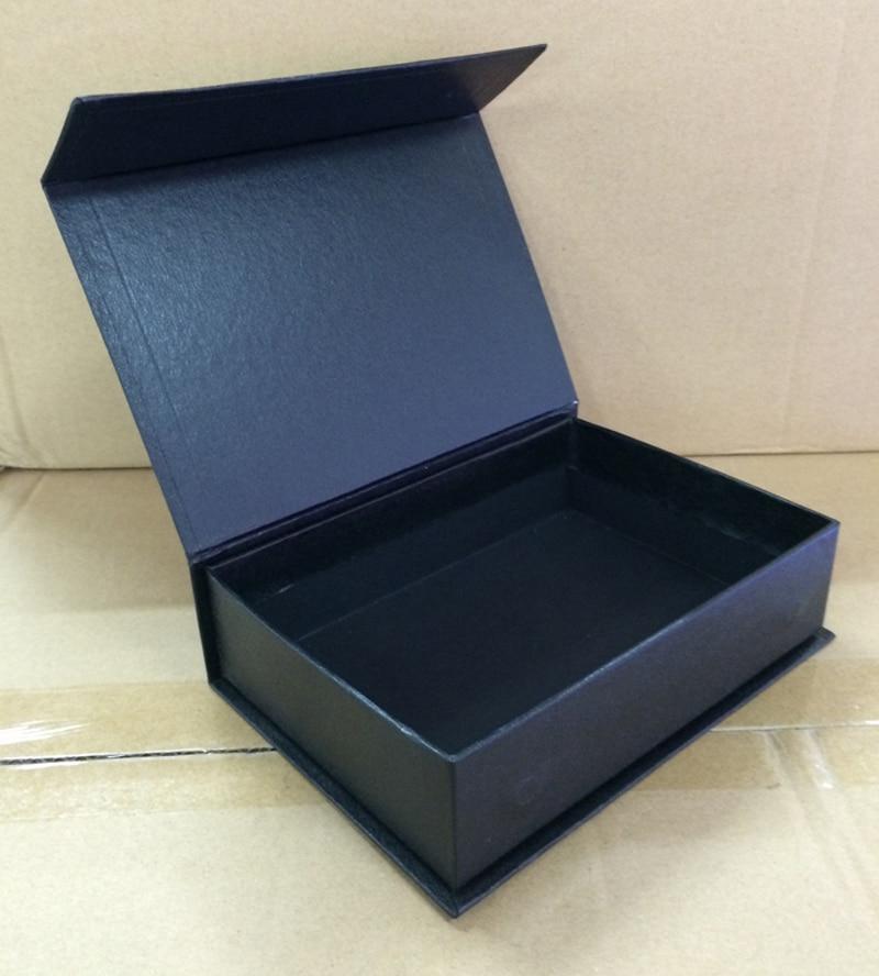 Caja de embalaje de papel con 5 unidades sin logotipo, caja de regalo Rectangular, tamaño 145x90x52 MM, 5,7x3,54x2,04 pulgadas