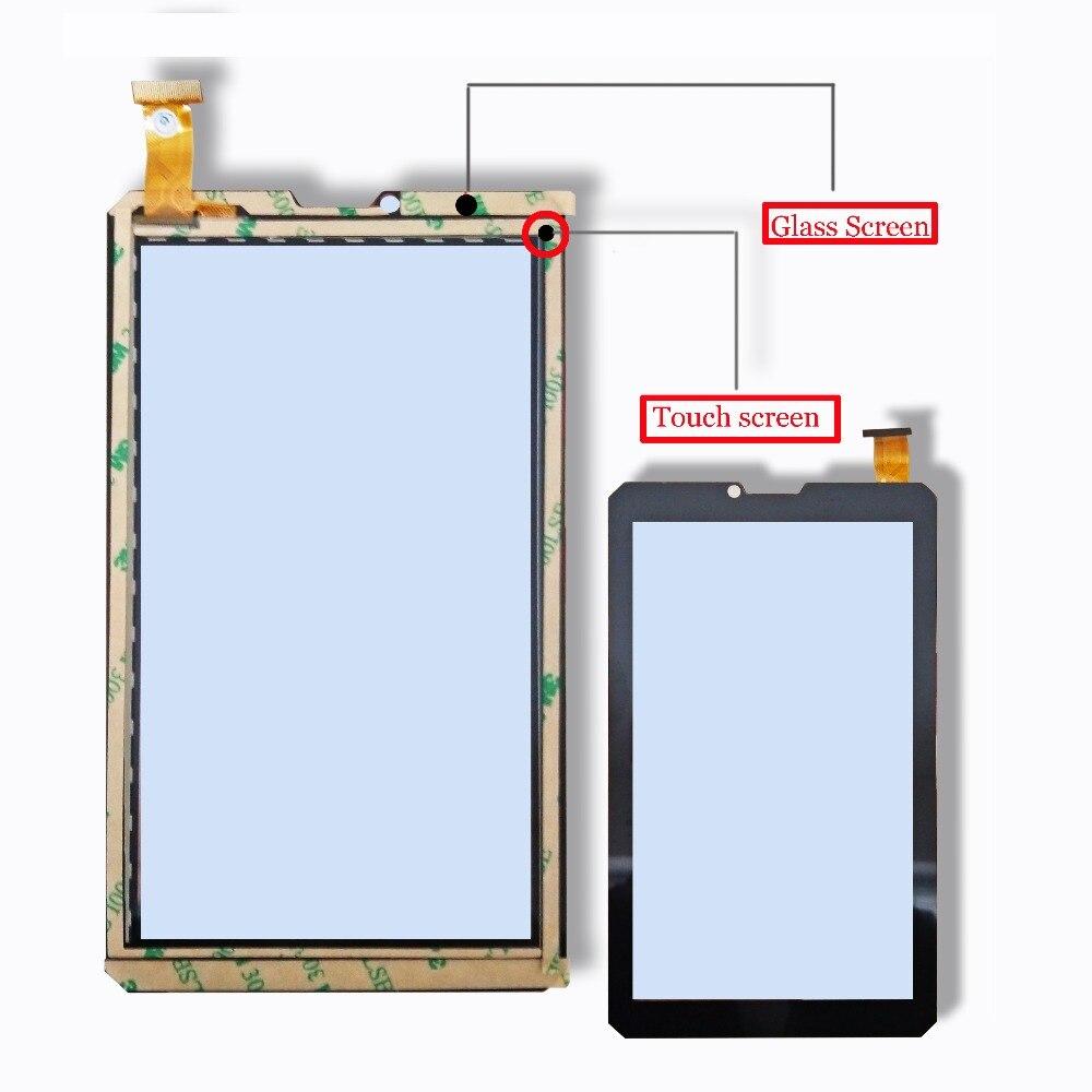 "Nuevo reemplazo del digitalizador de cristal del Panel táctil de la pantalla táctil de la tableta de la armadura de BQ-7082G de 7 ""por favor lea las instrucciones."