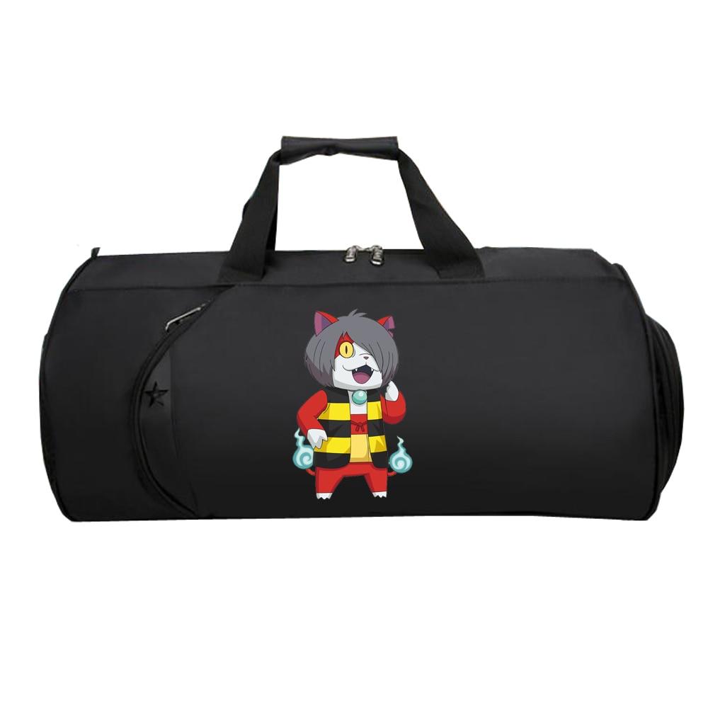 Men Travel luggage bag Handbag Luggage teenagers Suitcase Large Multifunction Tote Shoulder Bag for Japan anime Hakaba Kitarou
