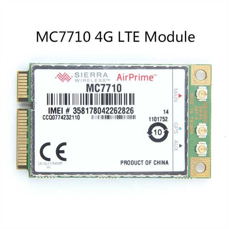 Desbloqueado Sierra Wireless MC7710 4G LTE/HSPA + 4G 3G módulo WWAN Mini PCI-E tarjeta WCDMA EDGE/GPRS/LTE 800/900/2100MHz