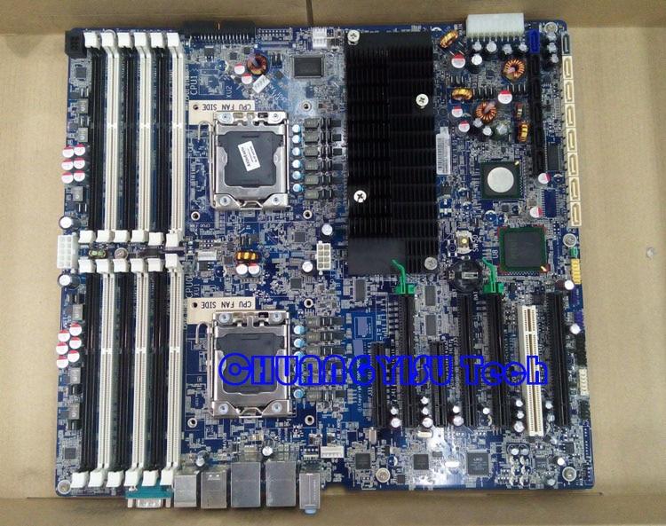 Free shipping CHUANGYISU for original Z800 Workstation motherboard  LGA 1366 576202-001 460838-002,supply 5500 Xeon Processors