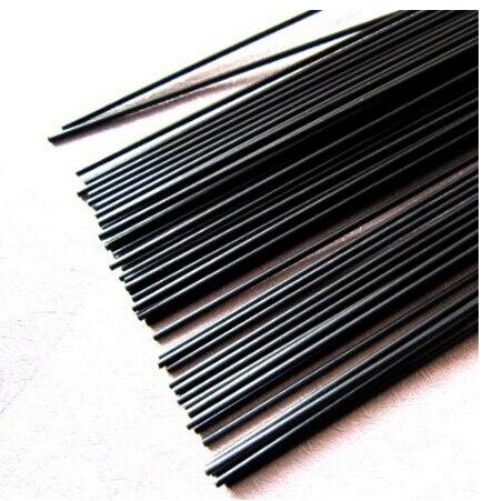 2 uds. Varillas de fibra de carbono de 5mm de diámetro x 500mm para aeroplano RC