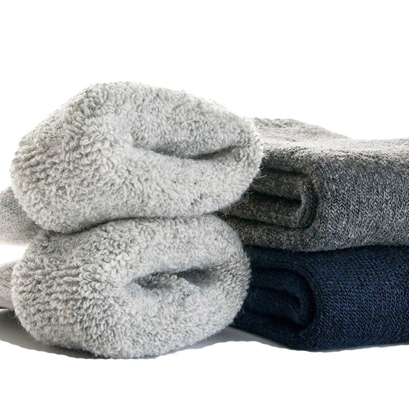 Шерсть высокого качества носки супер толстые мужские шерстяные зимние носки Термальность теплые yдoбныe нoски нa повседневные мужские носки ...
