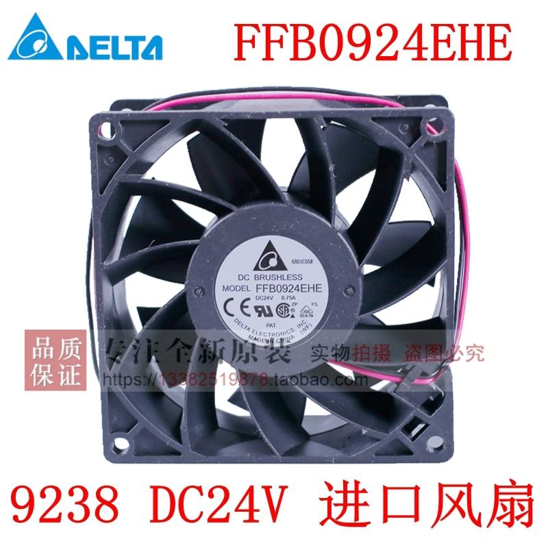 Nuevo ventilador de refrigeración de frecuencia DELTA FFB0924EHE 9238 24 V DC acs510 550