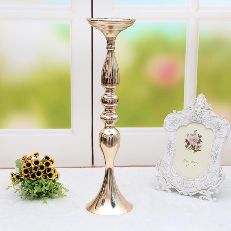 Candelabros para casas, candelabro alto de flores, vela Negro estilo mediterráneo, palos de vela de plomo para eventos en carreteras, cornamenta de resina 5ZX028
