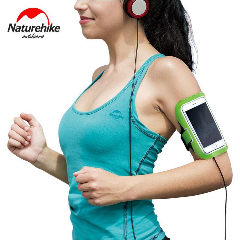 Naturehike Outdoor Night Running bolsa de gimnasio bolsas deportivas Brazo móvil bolsa de muñeca funda para teléfono accesorios de fitness NH16Y008-B