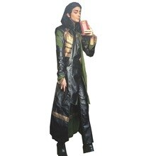 2018 Thor The Dark World Loki Cosplay Costume Whole Sets Cosplay Costume Halloween Party
