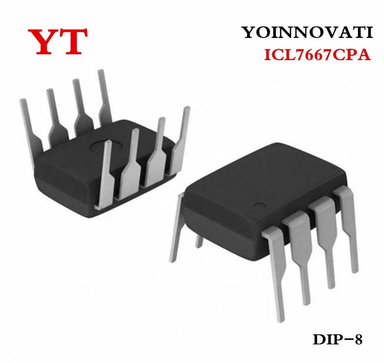 10 Uds = 1 lote ICL7667 ICL7667CPA DIP-8 de la mejor calidad