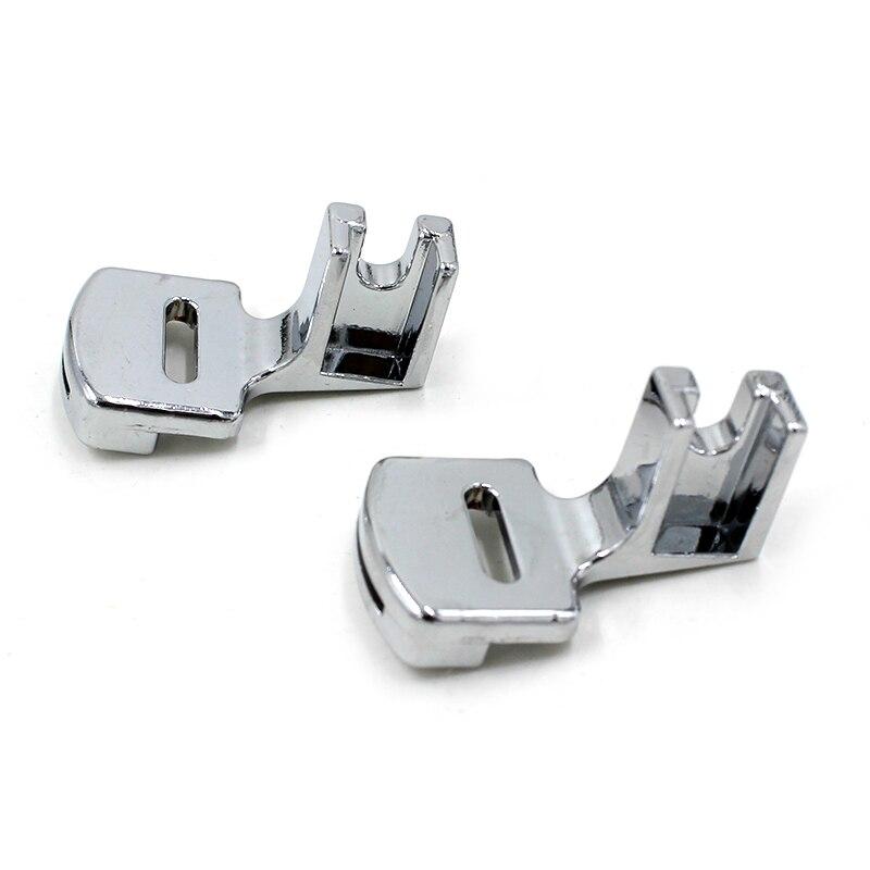 Alta calidad, 1 Uds., dobladillo plegable, prensatelas, Kit para máquina de coser