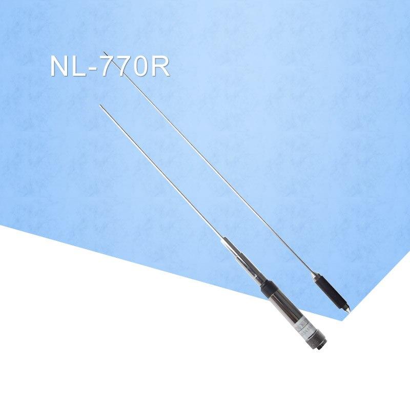 KSUN NL-770R cuatro bandas 146/245/360/430MHZ antena de Radio móvil para TM471 TM271 YAESU FT-7800 FT7900 770R Antena walkie talkie