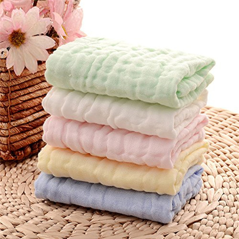 23*20cm Cute Baby Face Towel Microfiber Absorbent Drying Bath Beach Towel Washcloth Swimwear Baby Towel Cotton Kids Towel