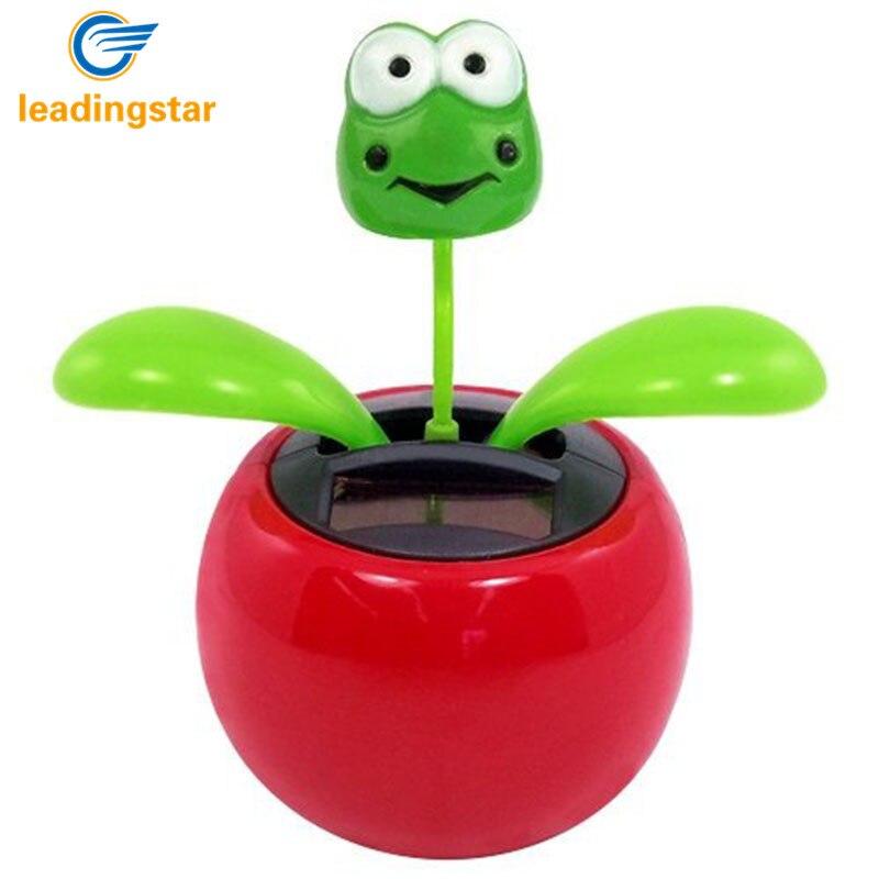 LeadingStar, rana de flor de baile con energía Solar, ideal como regalo o decoración, juguete Solar para niños, artículos de decoración zk15