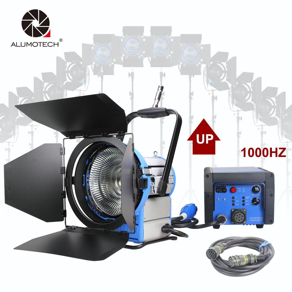 ALUMOTECH M18 Atualizado Pro Filme HMI Par Light + 1800W 1200W & 1000HZ Flicker Reator Eletrônico- frete + 7m Cabo