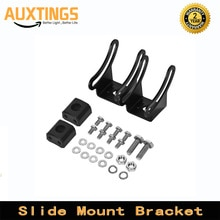 Slide Mount Bracket LED Light Bar Adjustable Mounting Bracket Working Light for Off Road Jeep ATV AWD SUV 4WD 4x4 Pickup