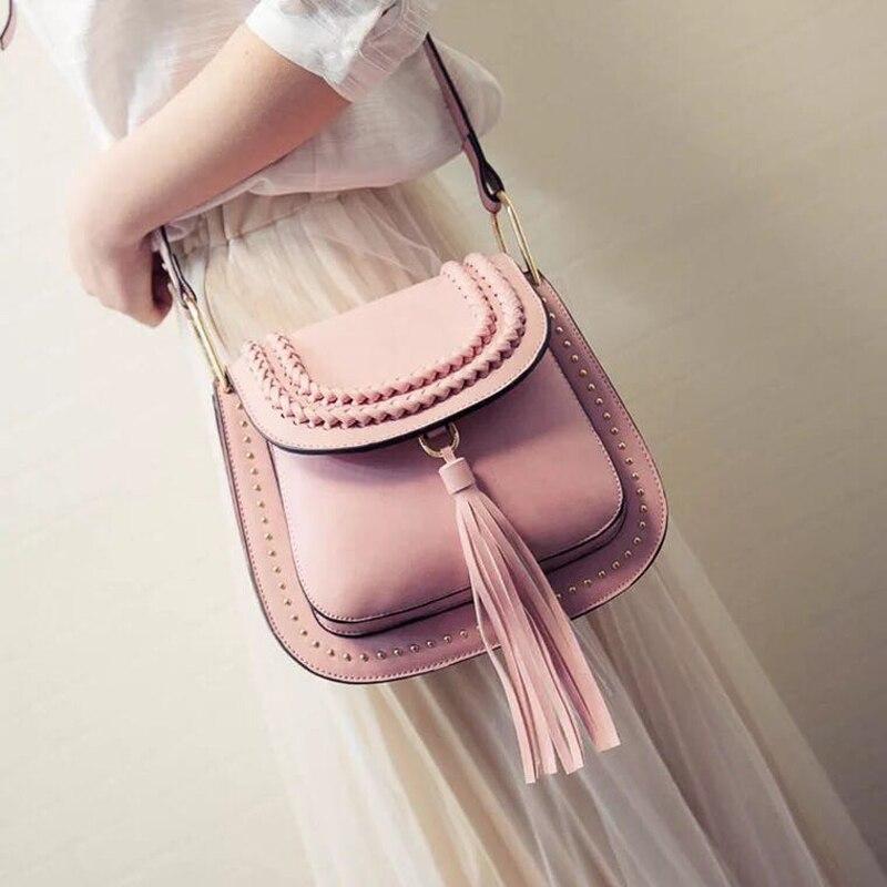 2018 bolsas para mujeres mensajero tejer diseñador Vintage hombro Crossbody bolsos pequeño Mini bolsos elegantes bolsos mujer