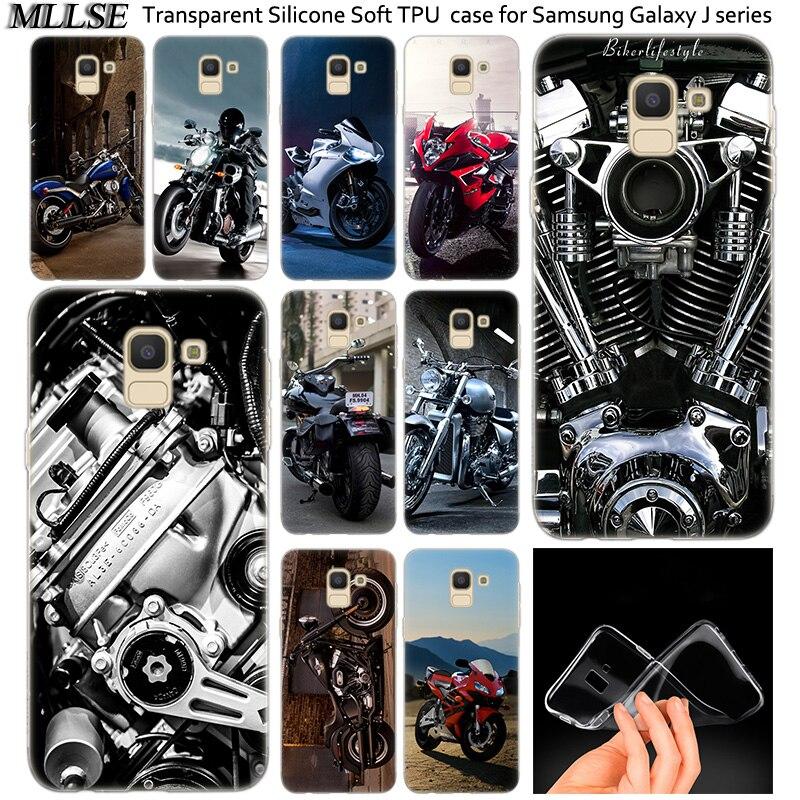 Mejor motocicletas de silicona suave funda para Samsung Galaxy J2Pro J4 J6 J8 2018 J3 J5 J7 2016 2017EU primer CORE Plus de la cubierta a la moda de la