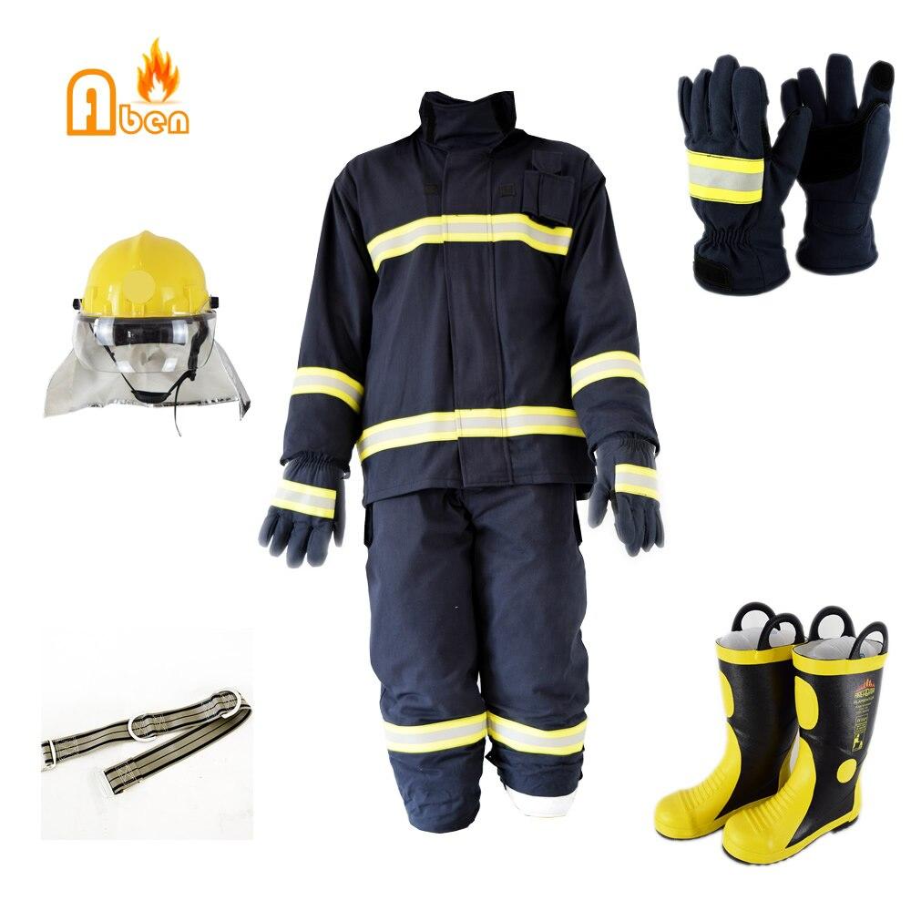 Новый завод Прямая продажа EN469 пожарный огнестойкий костюм