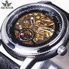 Sewor – montre-bracelet automatique pour hommes squelette décontractée mécanique marque de luxe 2021
