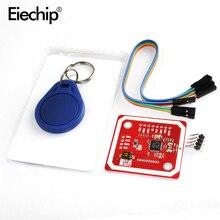 Беспроводной модуль PN532 NFC RFID V3, набор для чтения и записи, режим IC S50, карта PCB, Attenna I2C, IIC, SPI, HSU для Arduino, Diy, электронные