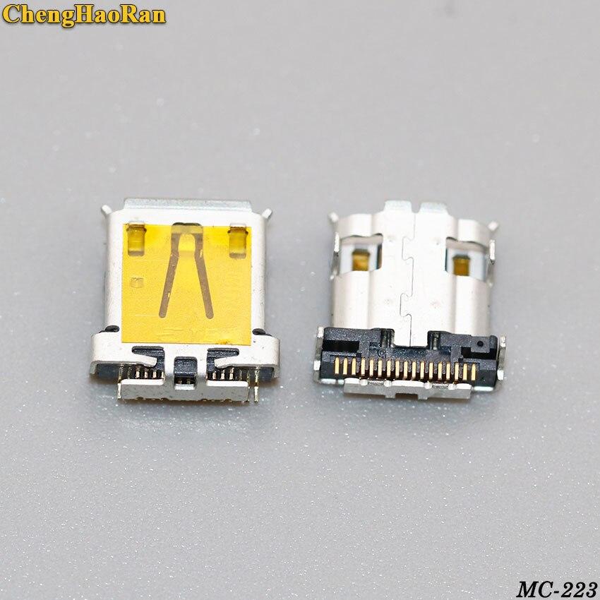 ChengHaoRan 2 шт. разъем Micro USB разъем для зарядки порт разъем подходит для Acer Iconia Tab A700 A701 A510 Новый 17pin 17P
